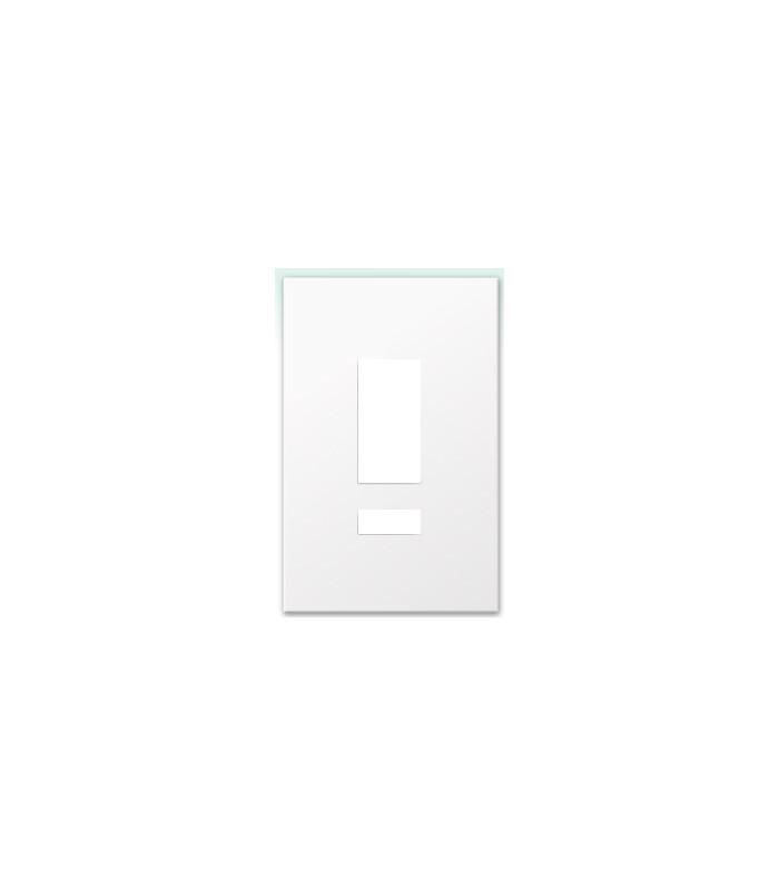 Placa de vidrio para botonera W5BRLN