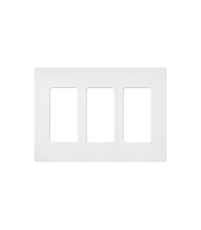 Placa 3 ventanas colores mate SW