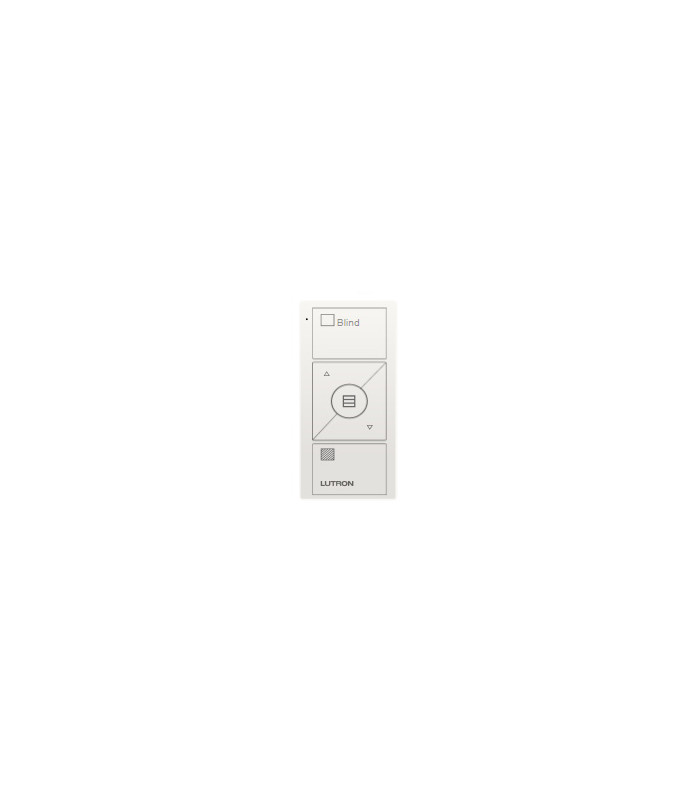Control Lutron Pico wireless (grabado horizontal sheer blind) 3 Botones + RL