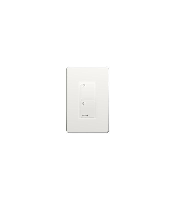 Control Lutron Pico wired (grabado iconos light) 2 Botones