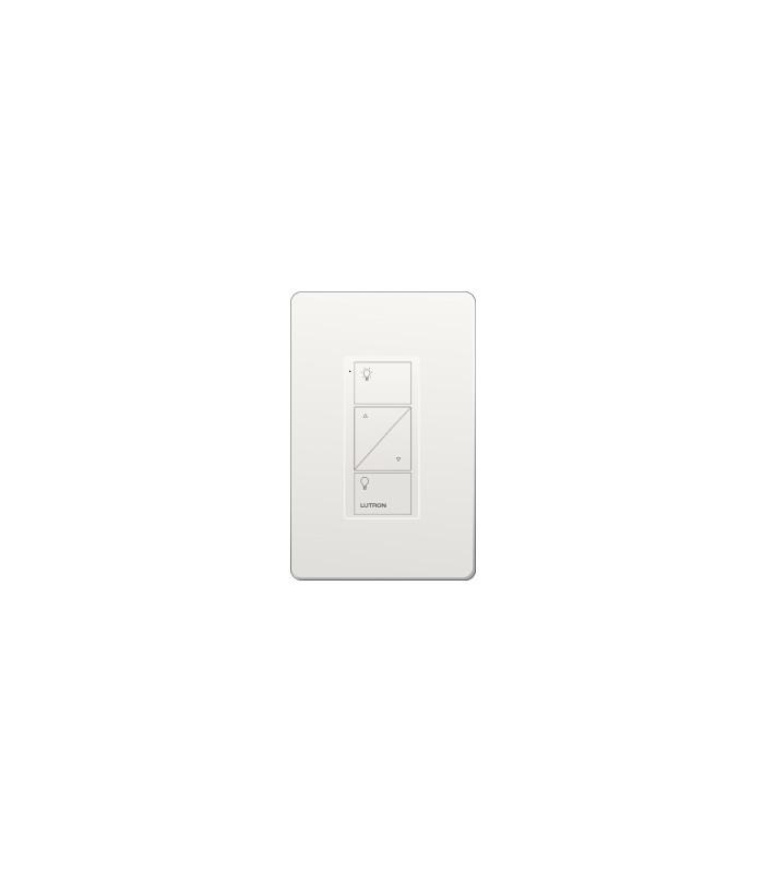 Control Lutron Pico wired (grabado iconos light) 2 Botones + RL