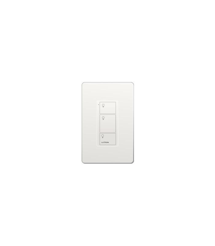 Control Lutron Pico Wired (grabado iconos light) 3 Botones