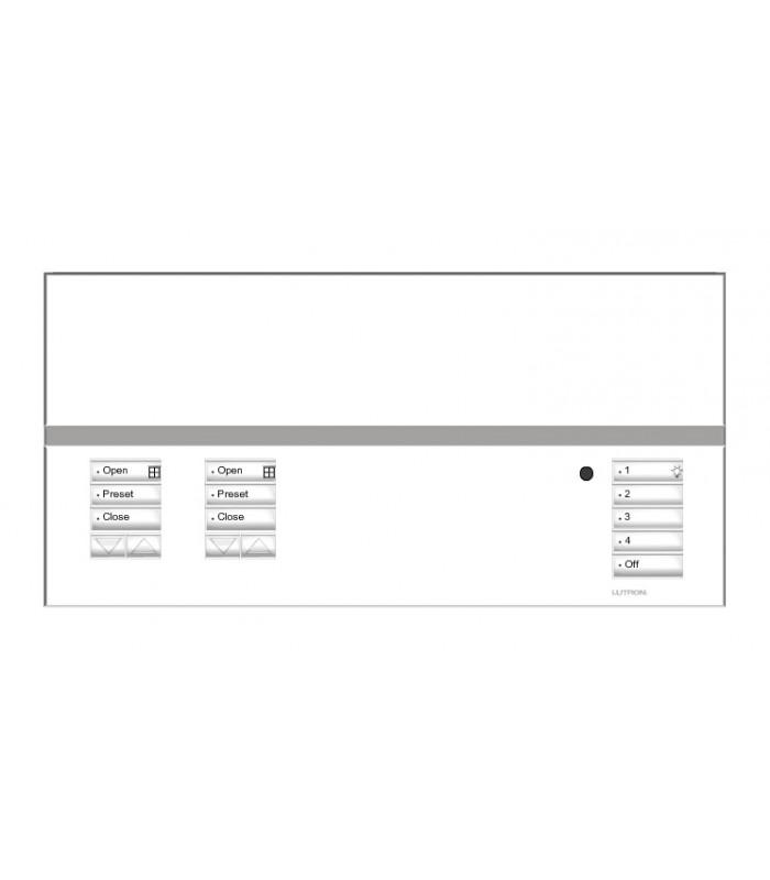 Placa GrafikEyeQS 2 Shade SATIN COLORS con grabado