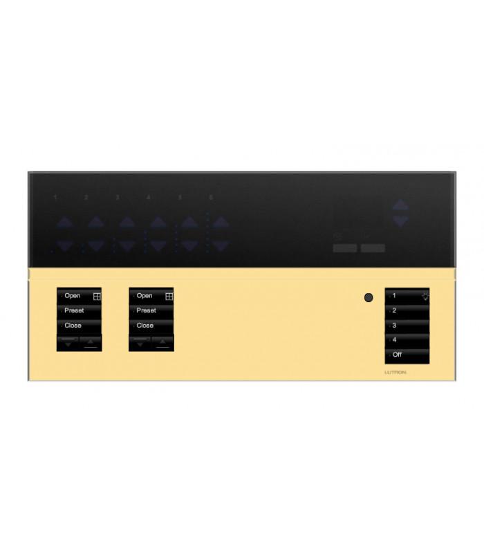 Placa GrafikEyeQS 2 Shade Metales con grabado y Tapa trasluz