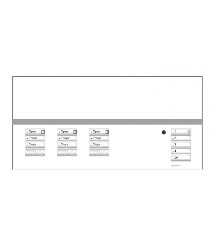 Placa GrafikEyeQS 3 Shade SATIN COLORS con grabado