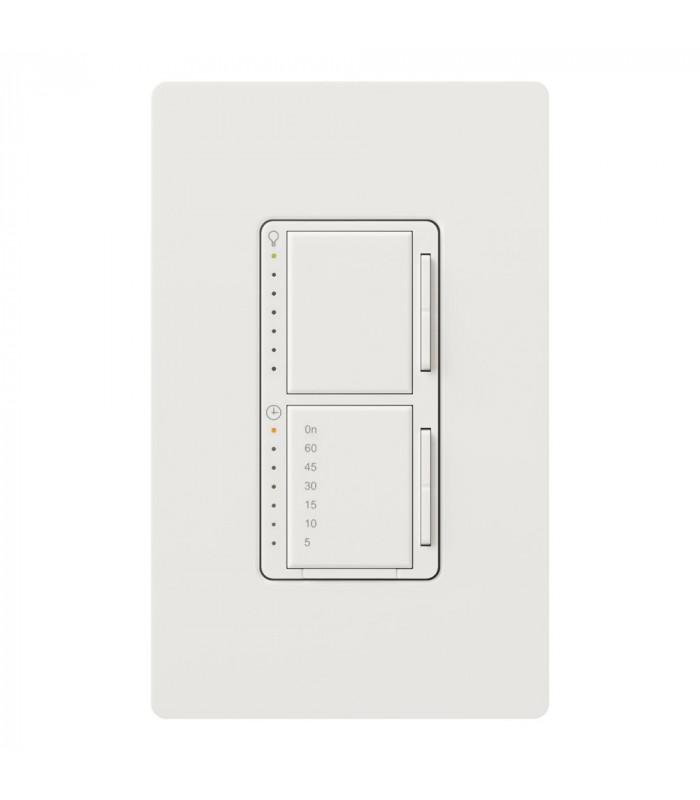 Lutron MAESTRO Dual Atenuador/Temporizador SATIN COLORS