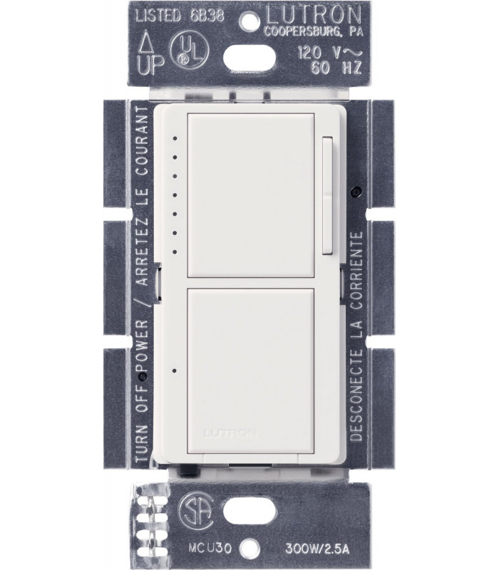 Lutron MAESTRO Dual Atenuador/Interruptor