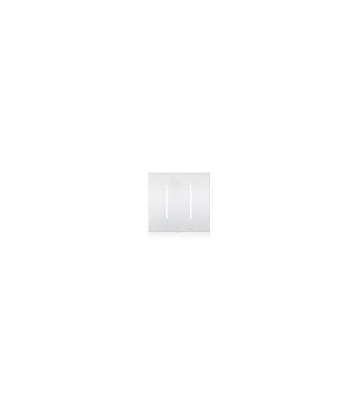 Placa GRAFIKT 2-GANG Cristales