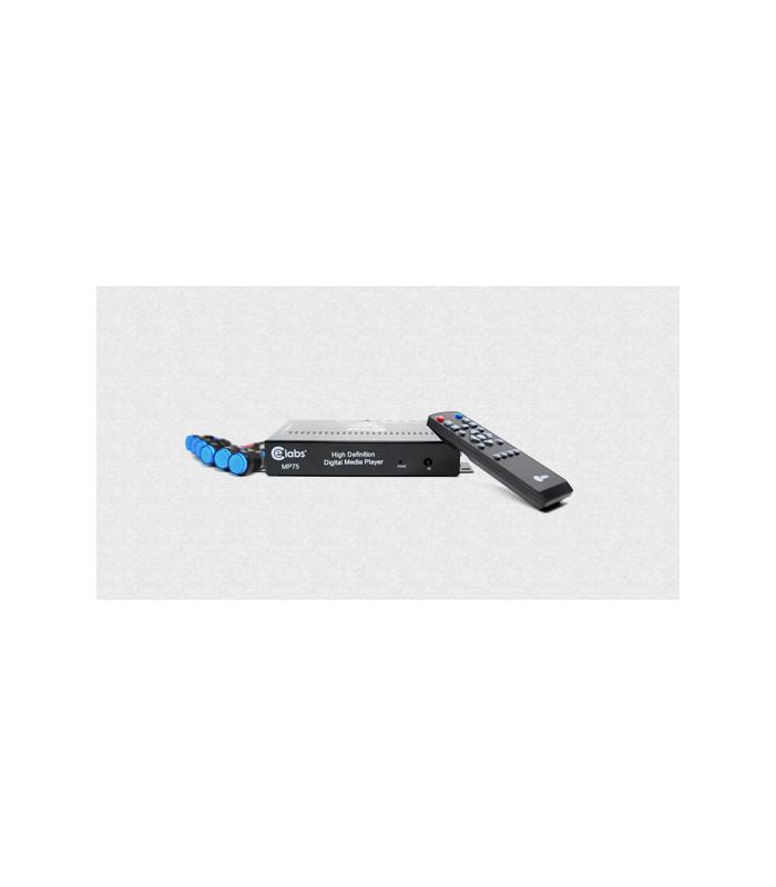 Reproductor de medios digitales 1080p salidas HDMI,video por componentes, VGA y video compuesto