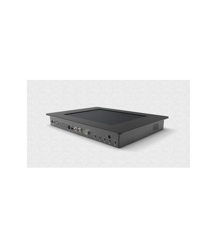 """Pantalla táctil HD 10"""" Net Reproductor de medios digitales c/HDMI out, RS232"""