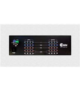 4x4 Matrix HD Switcher con salida RCA por componentes