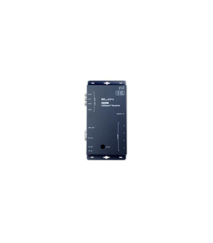 Receptor HDBaseT con entrada de audio ARP, serial, IR y Ethernet