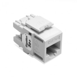 Jack RJ45 CAT5e Color Blanco (No Lutron)