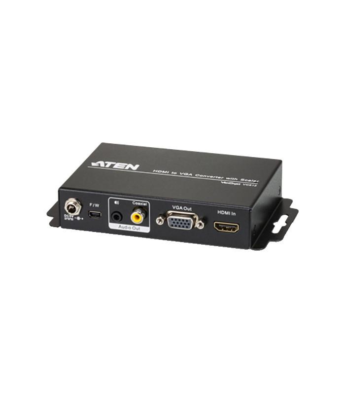 CONVERTIDOR HDMI A VGA + ESCALADOR. ATEN, VC-812.