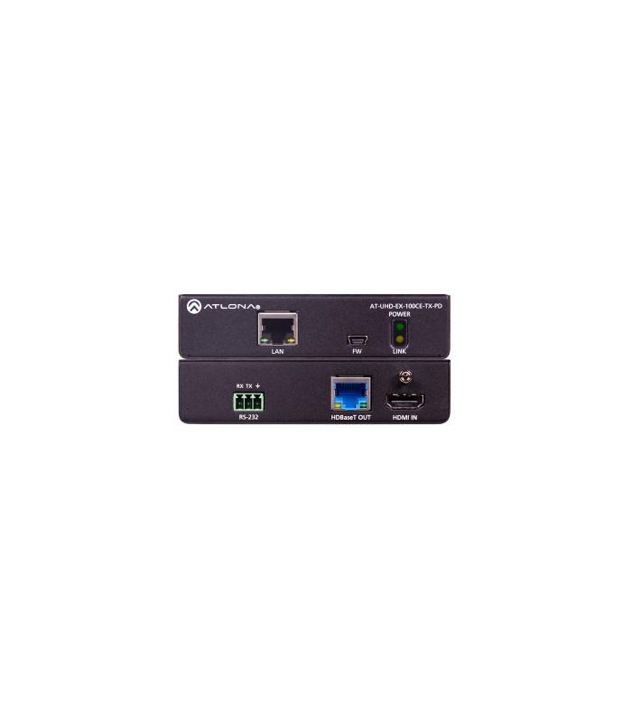 Transmisor 4K/UHD HDBaseT 100m (Fuente de poder)