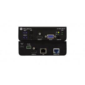 Switcher 3 entradas HDBaseT para entradas HDMI y VGA