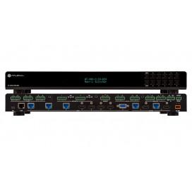 Matrix switcher multiformato 8x2 4K/UHD Con salida doble HDBaseT y HDMI en espejo