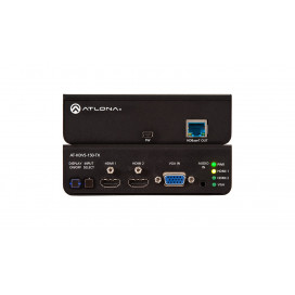 Switcher HDMI Dual y VGA/Audio a HDBaseT