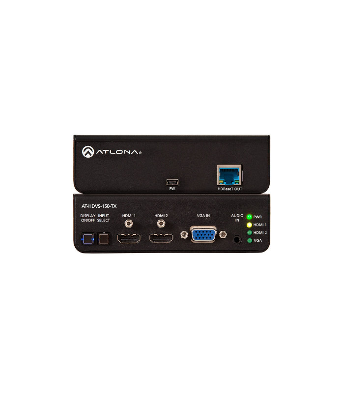 Switcher HDMI Dual y VGA/Audio a HDBaseT
