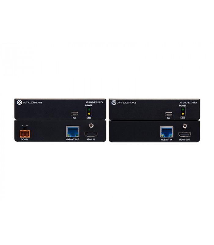 Kit TX/RX HDBaseT (70m) con PoE