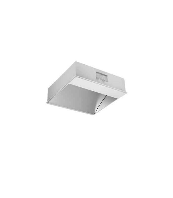 Luminaria LED indirecta para conferencias de video