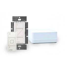 Kit Lutron Caseta Wireless SmartBridge PRO + Atenuador + PICO
