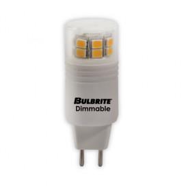 Bombilla LED GY6 120V 3000K 350 Lumens,Acabado: White