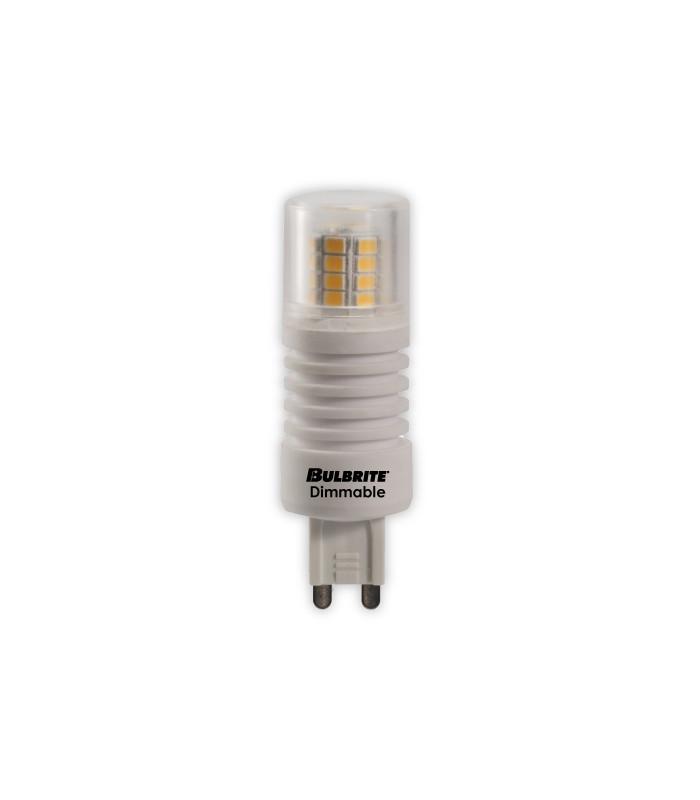 Bombilla LED G9 120V 3000K 350 Lumens,Acabado: White