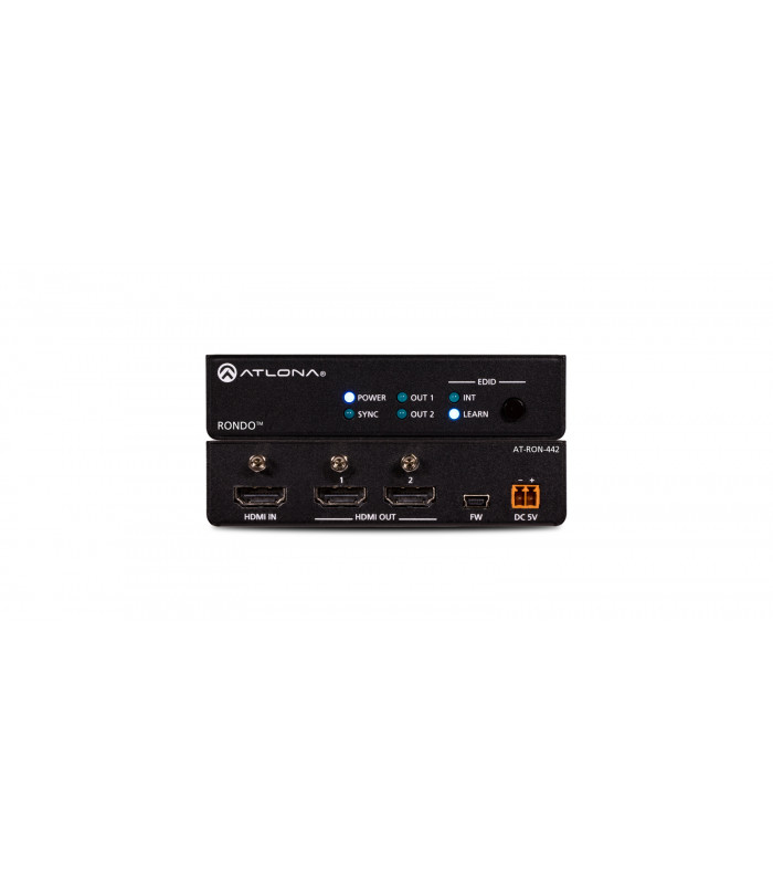 4K HDR Two-Output HDMI Distribution Amplifier