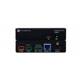 (Tx Only) 4K/UHD HDMI Over HDBaseT Transmitter with Control and PoE