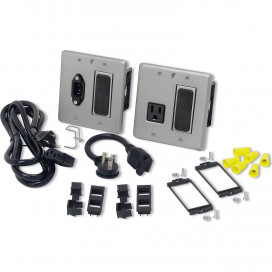 15A In-Wall Power &amp Signal Bay, 15A Code Compliant Extension System