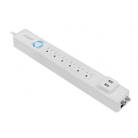 Power360 6-Outlet Floor Strip/Charging Station