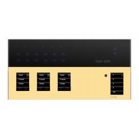 Placa GrafikEyeQS 3 Shade Metales con grabado y Tapa trasluz