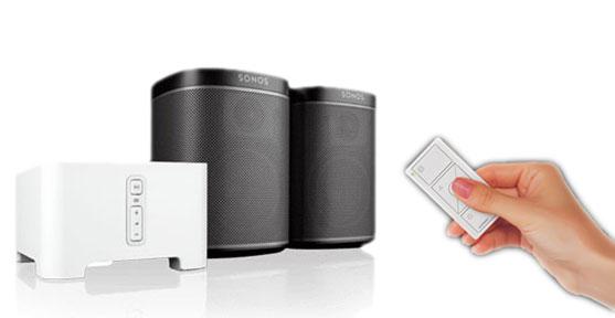 Integración Lutron Sonos